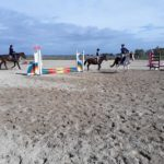 Pony Club Roma Equestrian Center Esterno Campo Tessuto